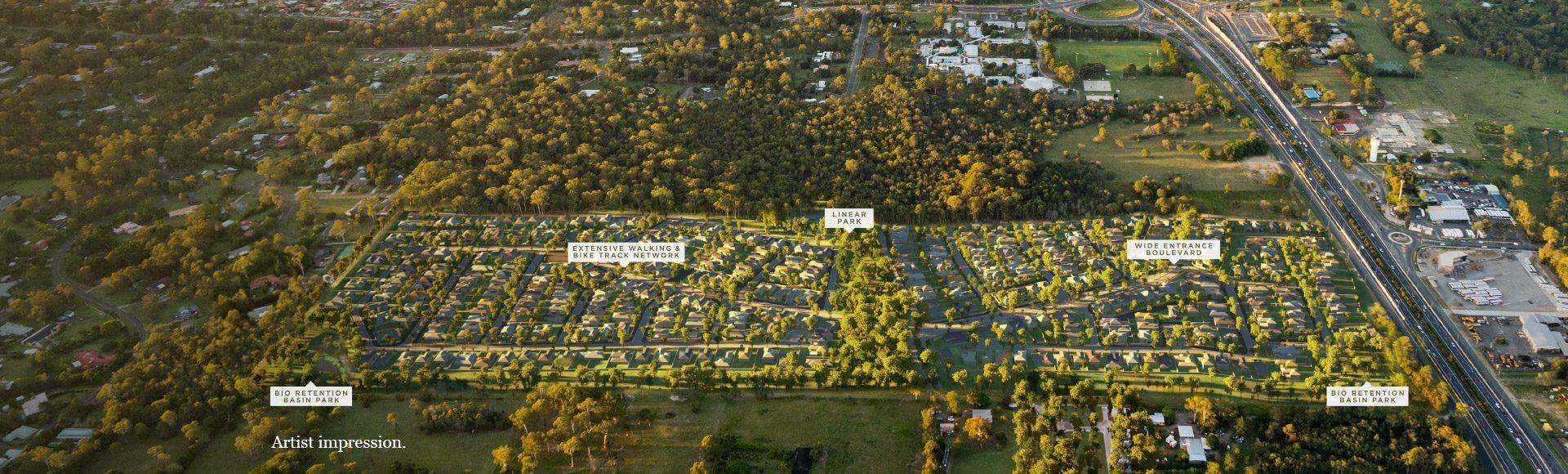 harvest-rise-land-for-sale-greenbank-aerial-masterplan