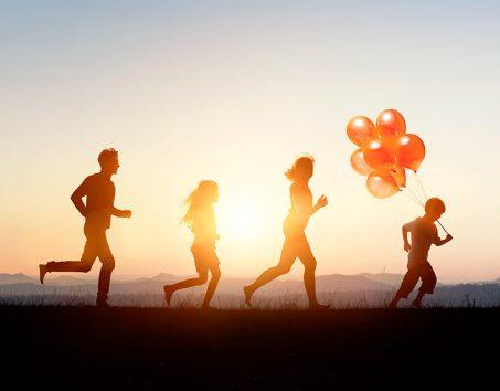 Harvest Rise Greenbank Family Running
